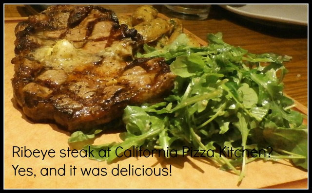 ribeye steak at #CPK www.janeanesworld.com