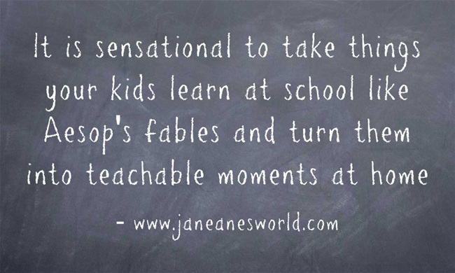 aesop's fables not just for school www.janeanesworld.com