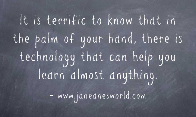 technology and education www.janeanesworld.com