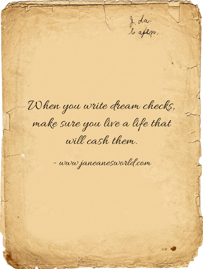 When-you-write-dream www.janeanesworld.com