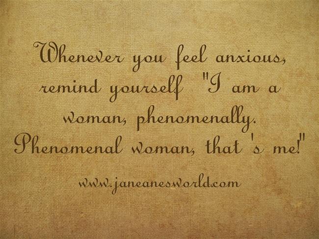 phenomenal woman www.janeanesworld.com