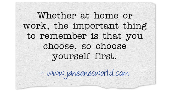 choose yourself www.janeanesworld.co