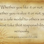 take action now role model www.janeanesworld.com