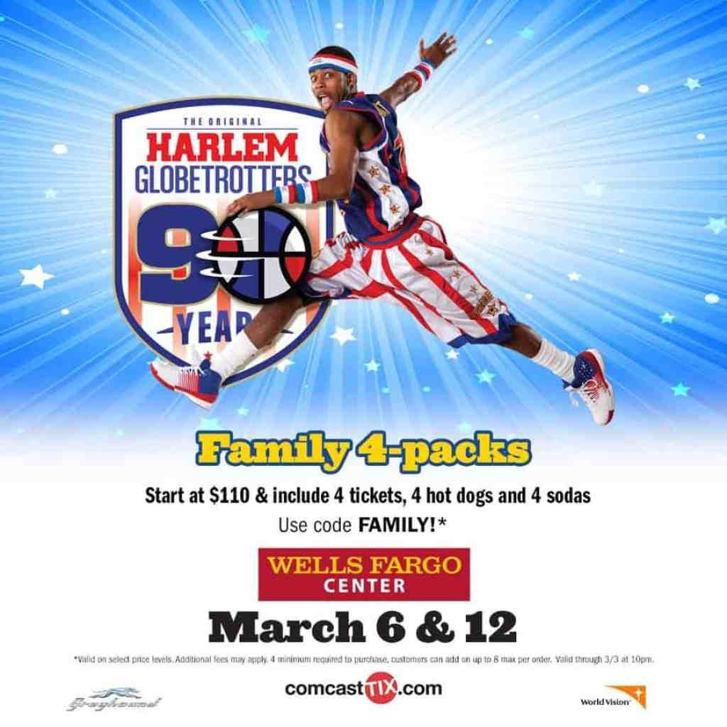 Harlem Globetrotters 2016 www.janeanesword.com