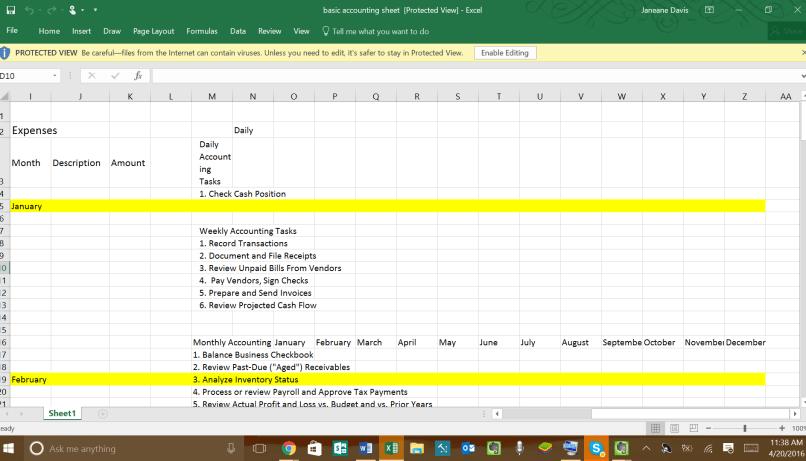 finances - learn accounting