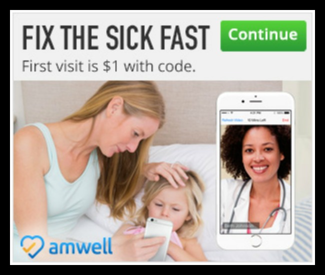 Amwell doctor visit