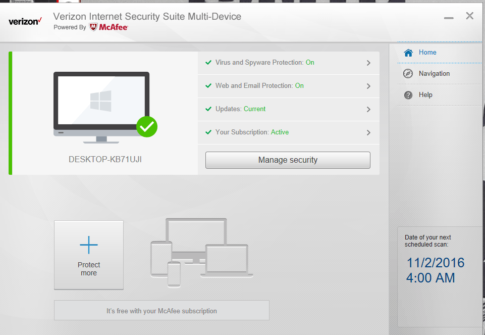 fios internet protection