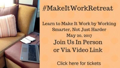 buy make it work retreat tickets