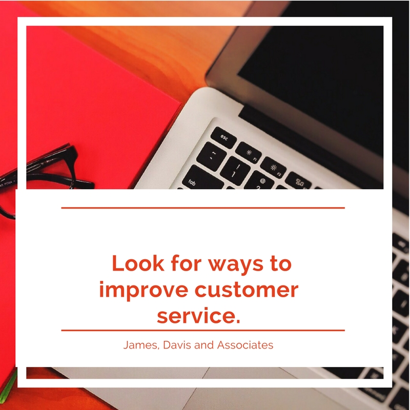 14. Look for ways to improve customer service.
