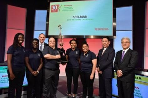 Spelman College Wins 30th Annual Honda Campus All-Star Challenge (HCASC), America's Premier HBCU Academic Competition