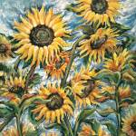 Sunflower Breeze 22 x 28 Giclee Print $385