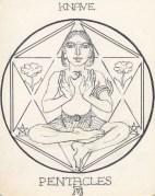 Arcana Pentacles Knave-janeadamsart
