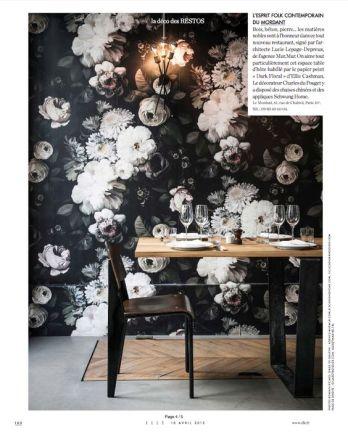 Dark Floral by Ellie Cashman