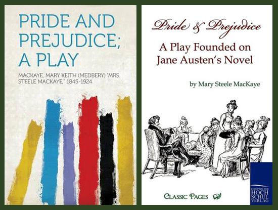Pride and Prejudice, a play