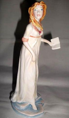 Catherine Morland, porcelana