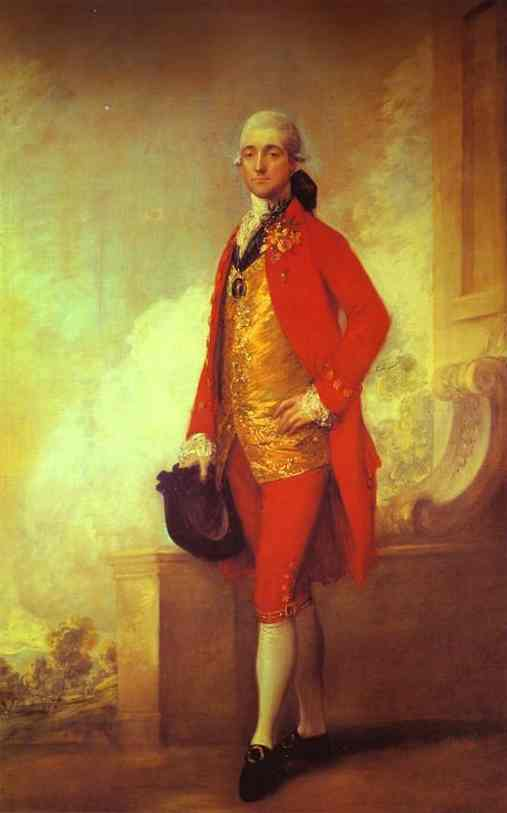 Captain William Wade, Gainsborough