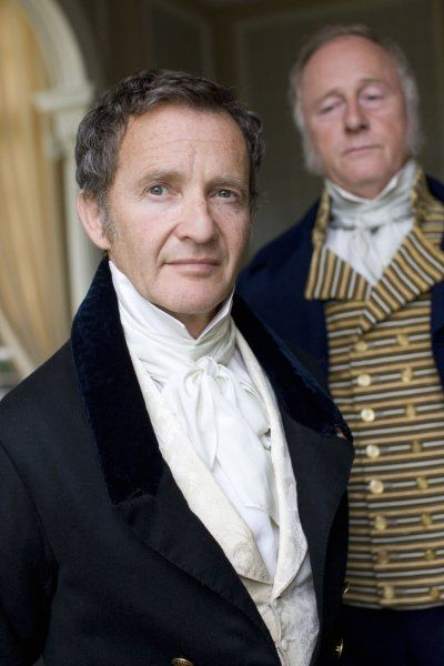 Anton Lesser and Nick Jones as Mr. Merdle and his butler