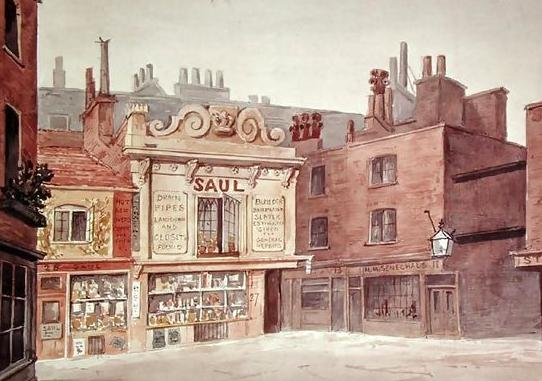 St. James's Market, Haymarket, 1850