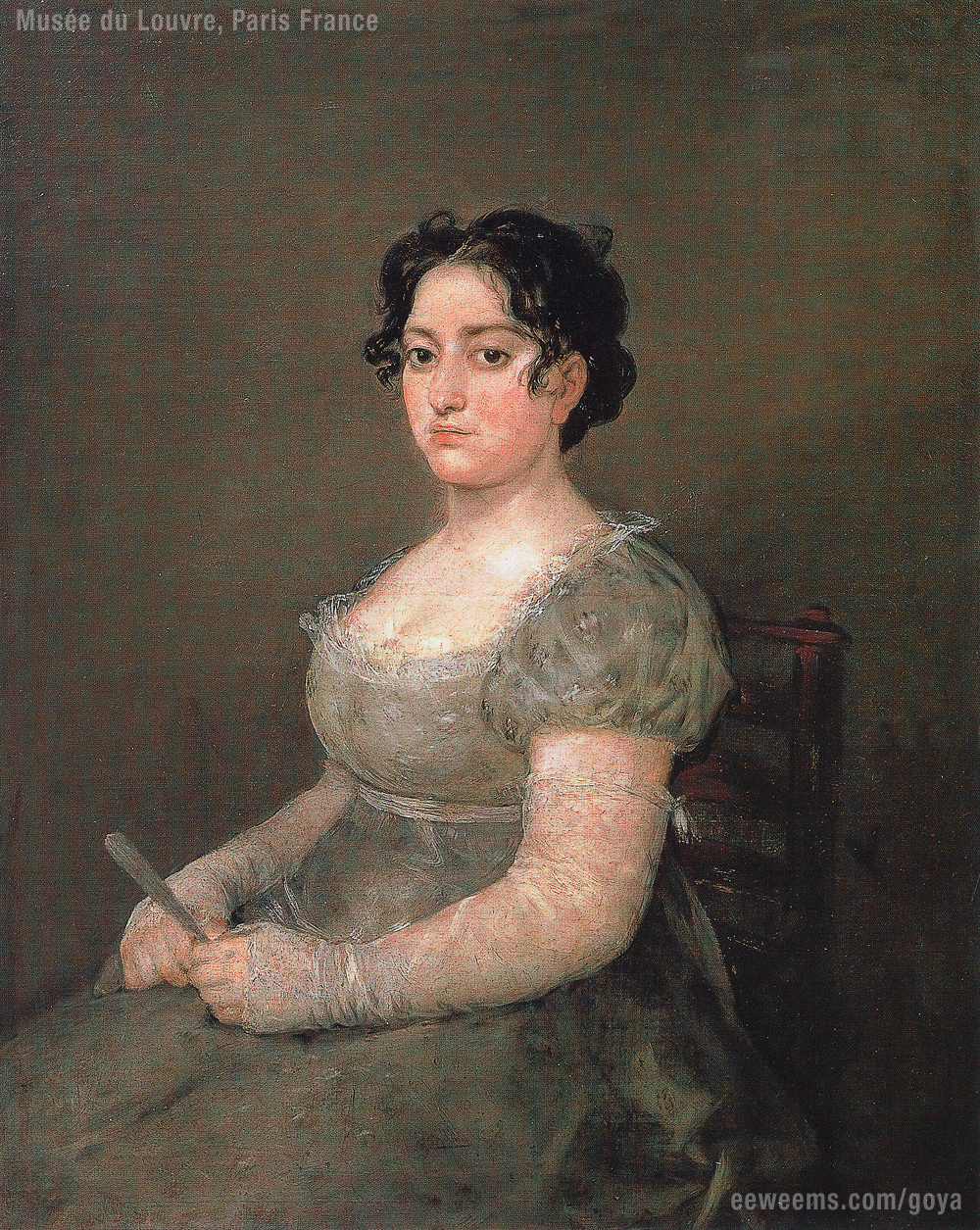 Goya, Woman with Fan