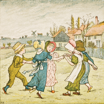 kate greenaway different kinds of blind