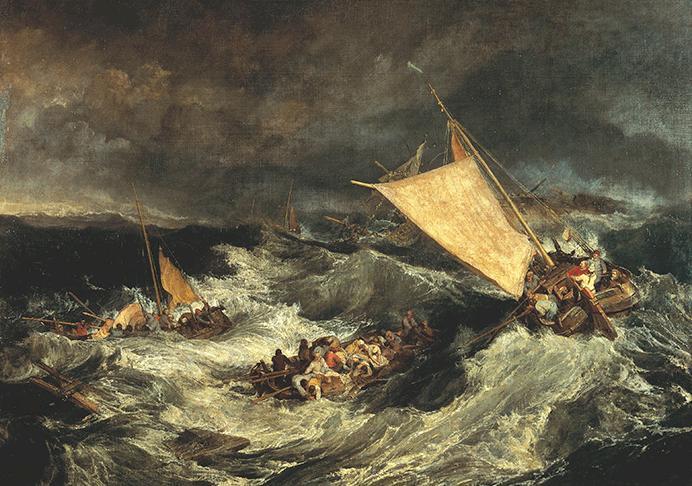 The Shipwreck, 1805, Turner