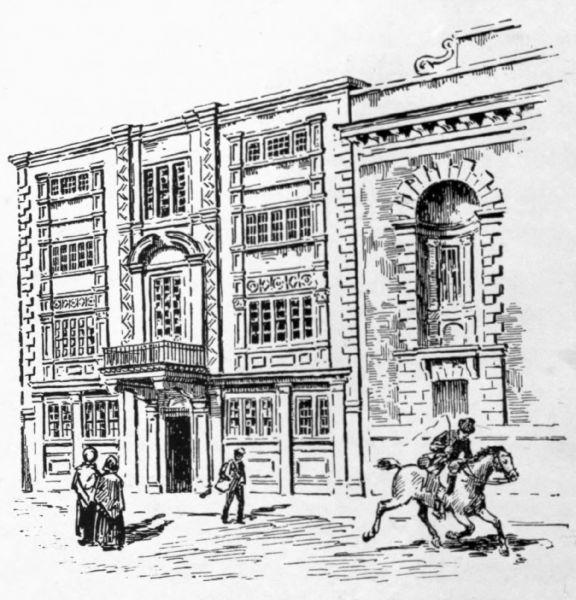 General Post Office in Lombard Street, London