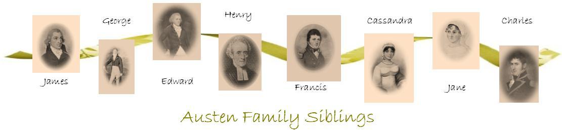 Edward was the Austen's third oldest child