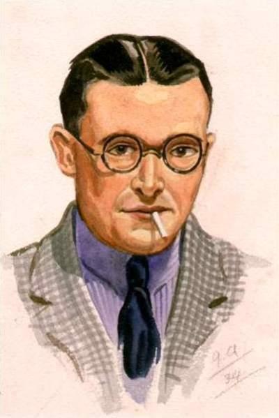 Joe Appleyard, Self portrait, age 26