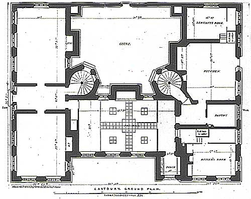 The Servant S Quarters In 19Th Century Country Houses Like Downton   House Plans With Servant Stairs   Classic American House   1890'S Victorian Home   Prairie Box House   Farmer House   Downton Abbey