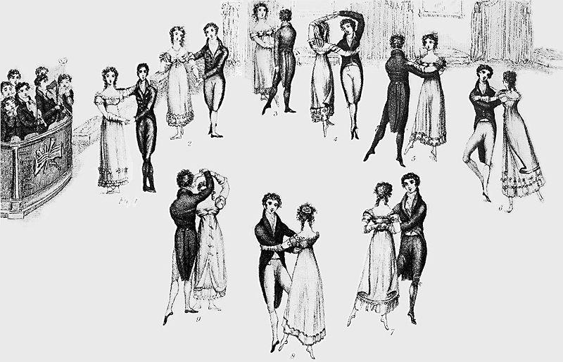 waltz steps diagram
