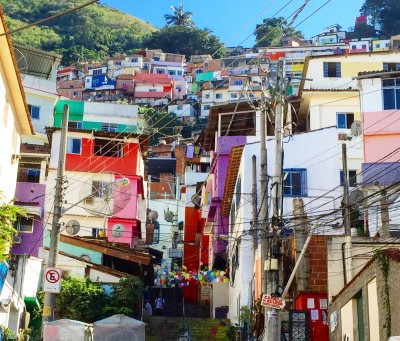 Santa Marta favelaen