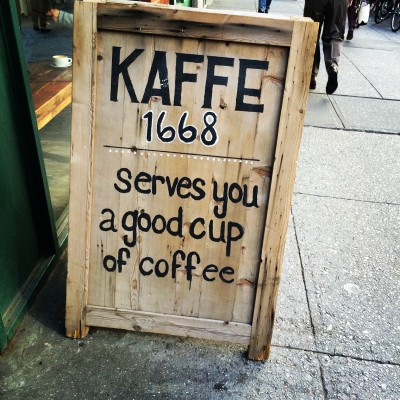 Kaffe 1668, Greenwich Strret