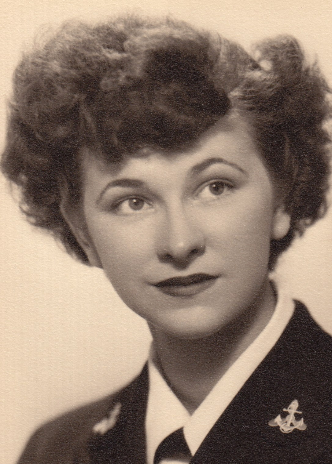 Flora Jane 1945 Navy