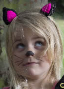 Black Cat Ear Hair Clips