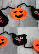 Cat and Pumpkin Bunting