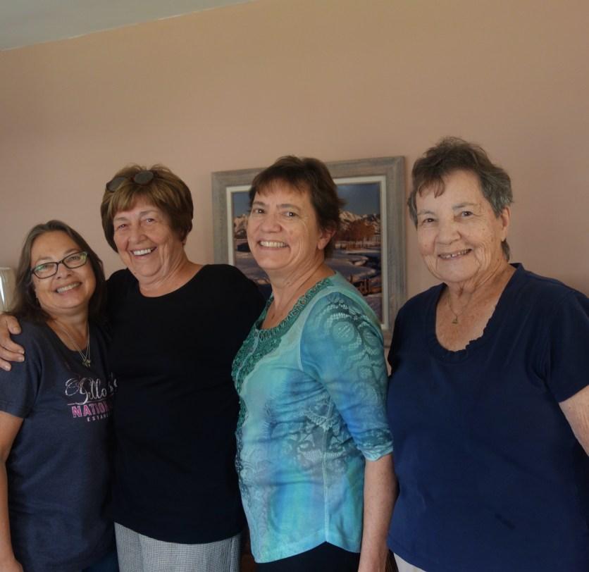 Jane, Patsy, Kathi, Mom