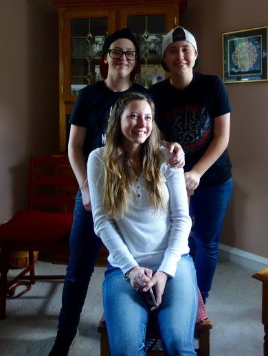 Abby, Alex, Becca
