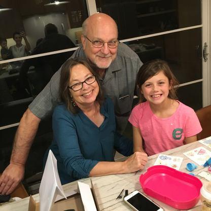 Gigi, Grandpa and Elle