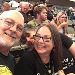 Springsteen concert with our friend Tammy