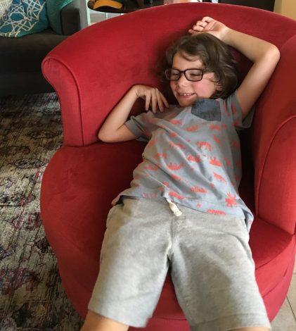 Great nephew Oren (Alana's)