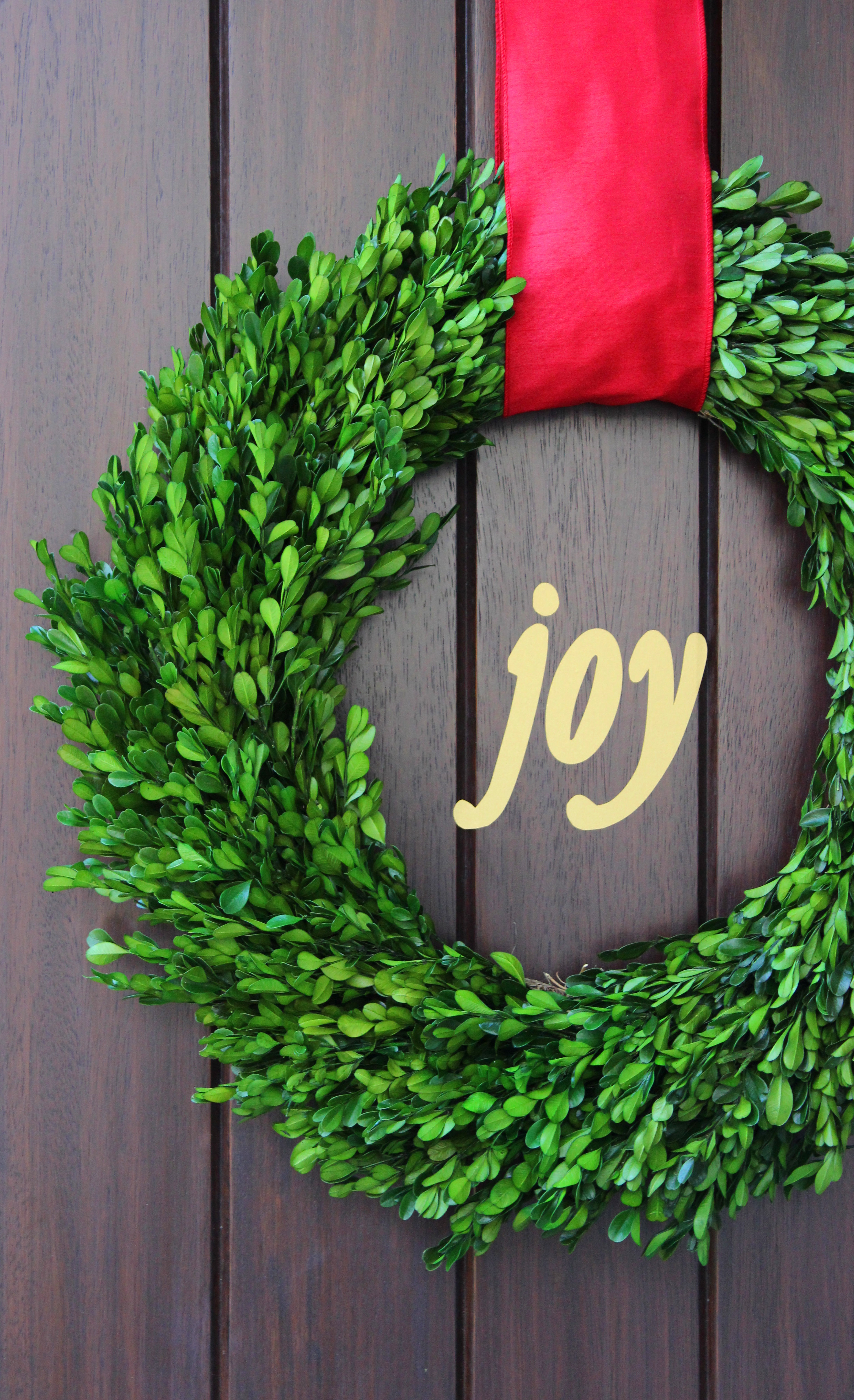 Christmas wreath  jane can