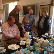 Morning tea with the Venters