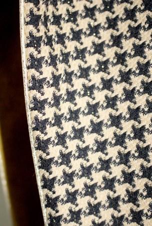écharpe flanelle et paillettes
