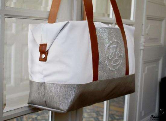 Couture Sac Week End personnalisé