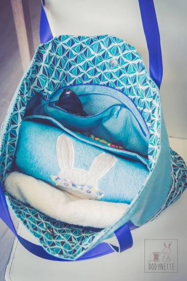 tutoriel sac cabas de plage