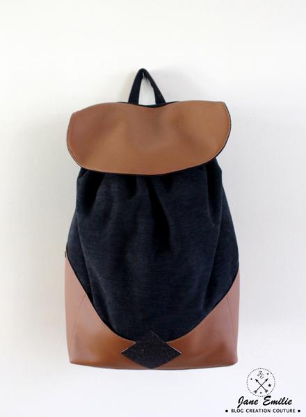 Ideal Le Sac à Dos Chléa ⋆ Jane Emilie - Créatrice & Blogueuse Couture CM87