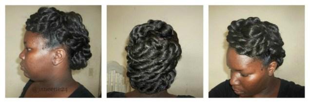Updo w/ Added Hair