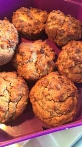 Banana paleo muffins