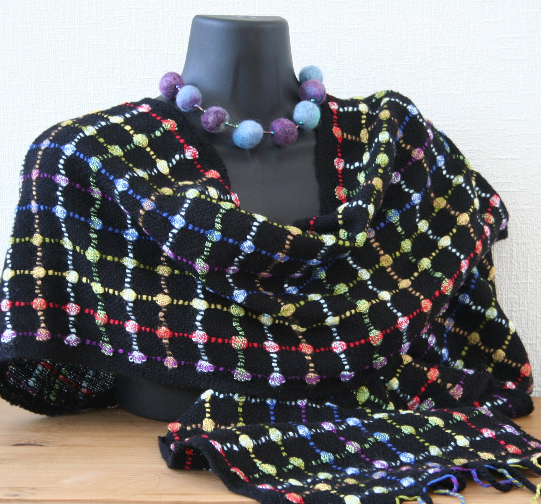 Midnight Jewels Scarf