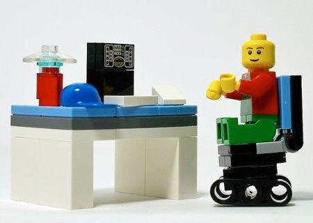 Lego Computer Guy